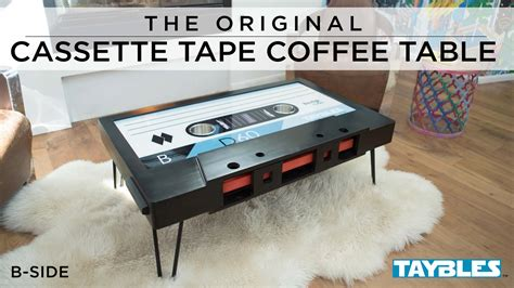 TAYBLES: The Original Cassette Tape Coffee Table by Taylor