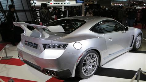 Toyota Supra Inspired GT 86 Is One of the Top Concept Cars