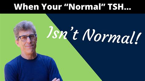 Why your TSH normal range isn't normal – Scott Resnick, MD