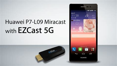 HuaWei P7-L09 connect with EZCast through WiFi Miracast