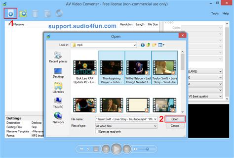 How to convert video files to AVI format - Audio4fun