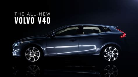 The all-new Volvo V40 – Product teaser film (1:03) - Volvo