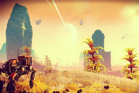 Here's how the art of No Man's Sky evolved over time - Polygon
