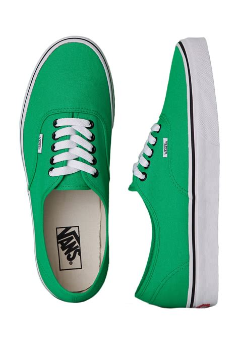 Vans - Authentic Bright Green/Black - Shoes - Impericon