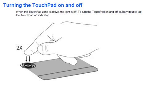 Solved: Disabling of hp g62 touchpad - HP Support Forum