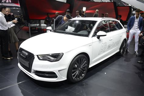 Audi's A3 Sportback e-tron Is As Fuel-Efficient As They
