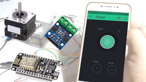How to control Stepper motor using L9110 driver module