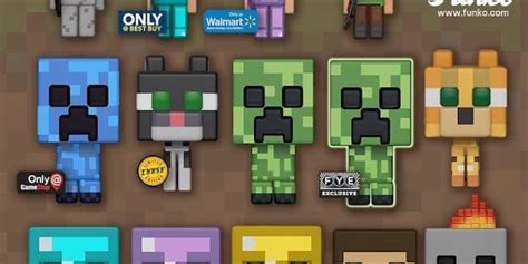 'Minecraft' Joins the Funko Pop Family in a Big Way