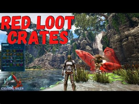 (New) Red Loot Crates Land Locations on Crystal Isles