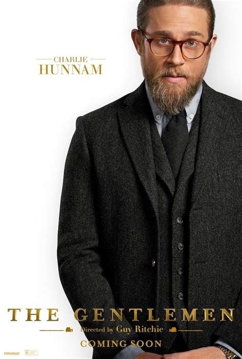 'Sons of Anarchy' Alum Charlie Hunnam Looks Dapper in