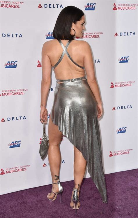 Jessie J Attends 2020 MusiCares Person of the Year Award