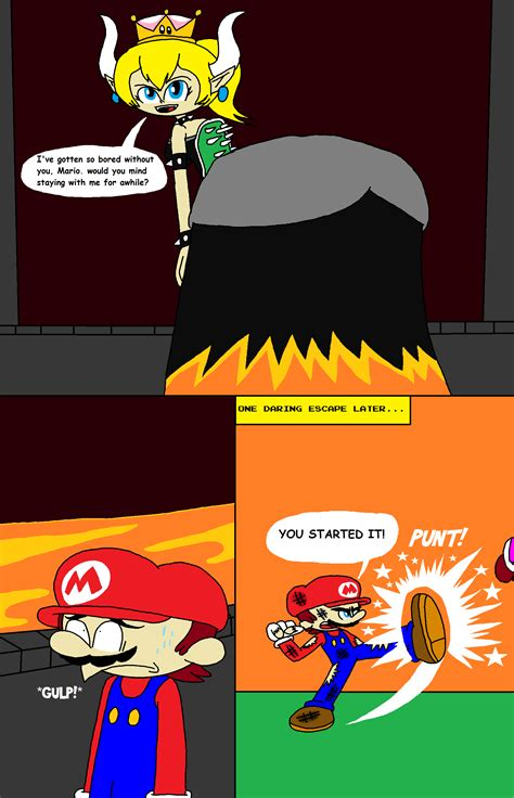 Really Big Trouble in Bowsette's Lair by thekirbykrisis on