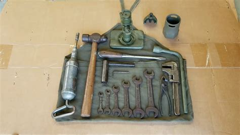 Original WW2 Jeep Tool Kit for Willys MB / Ford GPW - YouTube