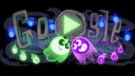 Check out Google's spooky Halloween Doodle - its first