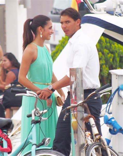 Rafael Nadal and Xisca at a wedding in Spain Lainey Gossip