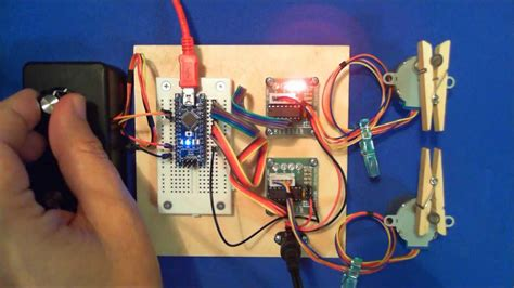Arduino and Two Stepper Motors - YouTube