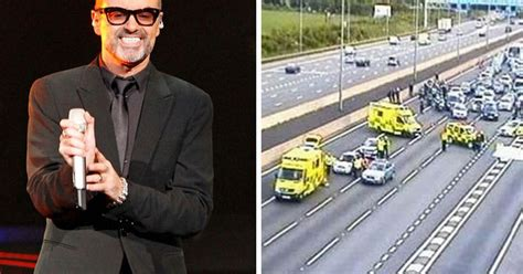 George Michael released from hospital after rush-hour