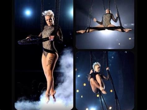 Pink Brings, Just Give Me A Reason, Legs, To 2014 Academy