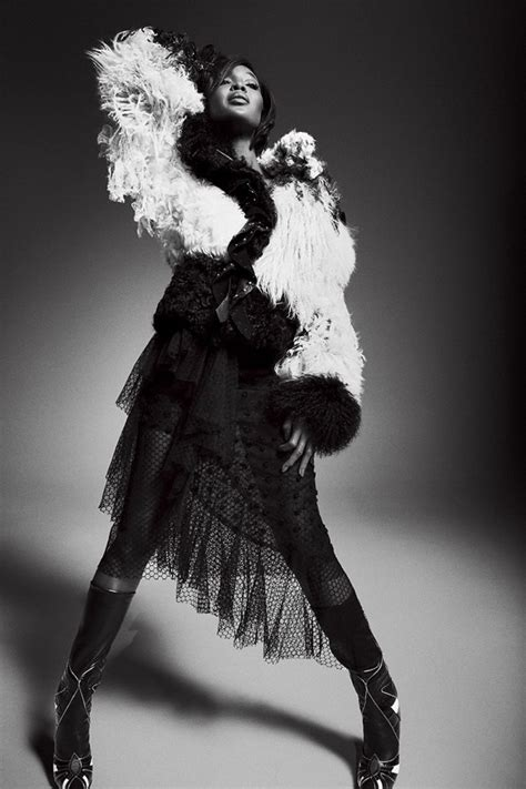 Naomi Campbell Stuns in Black & White for King Kong